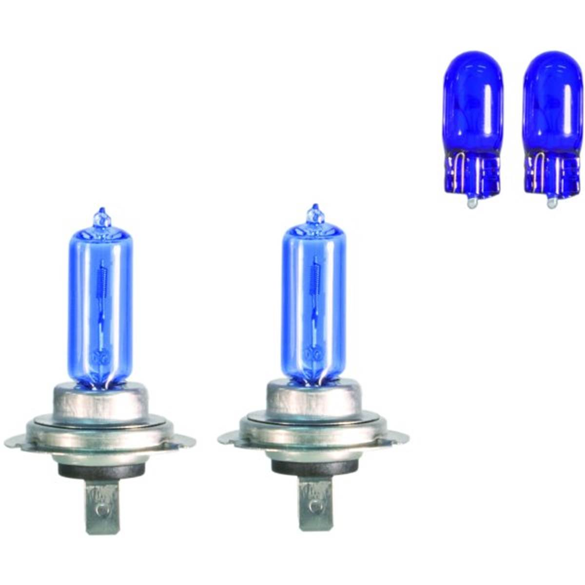 Ampoules h7 Spectras + 2 Ampoules T10 Xenon Pack x2 BC Corona
