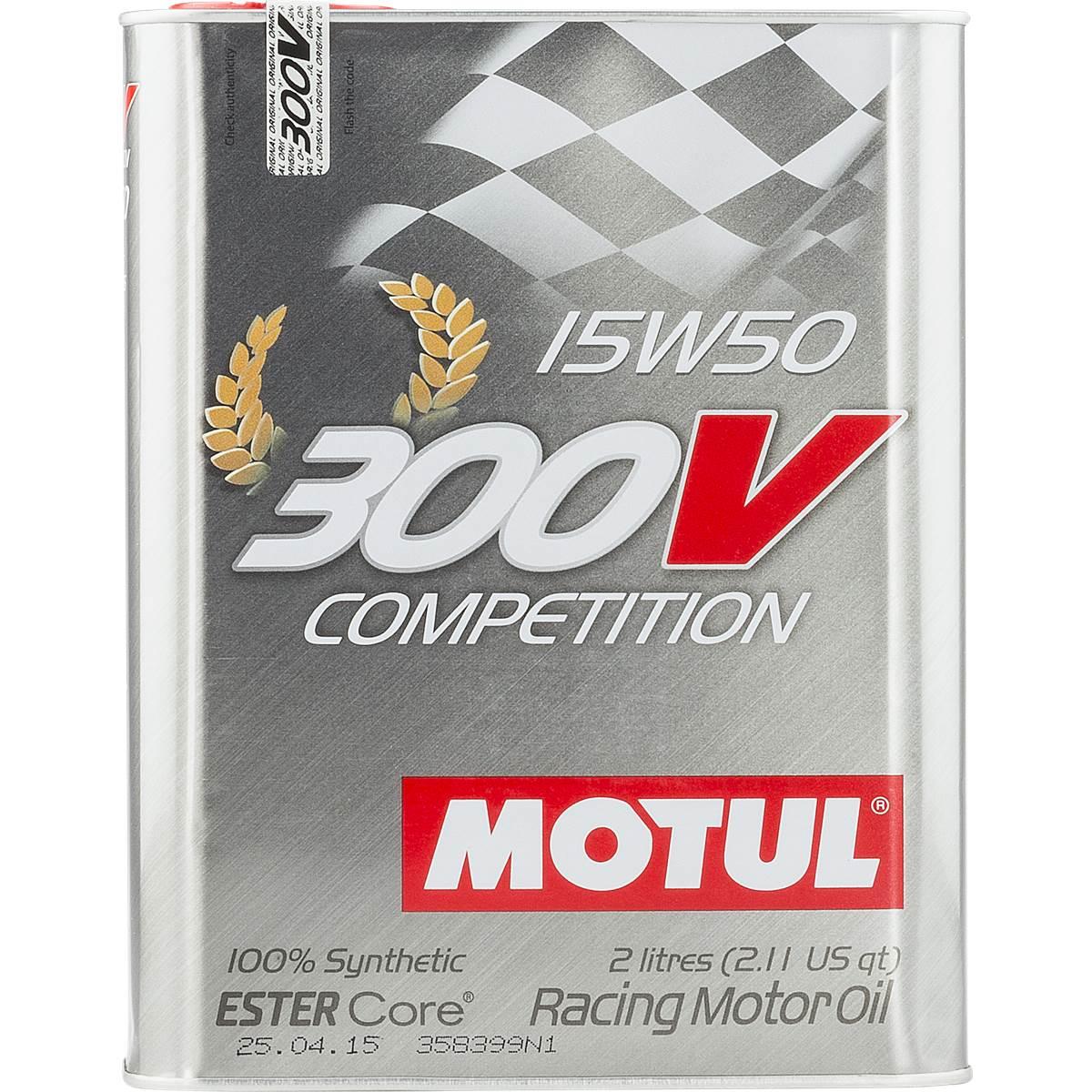 Huile moteur MOTUL 300 V 15W50 2L