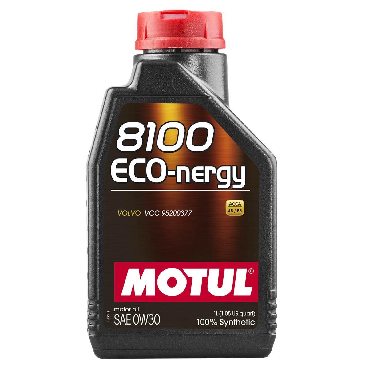 Huile moteur MOTUL 8100 Eco-Nergy 0W30 1L