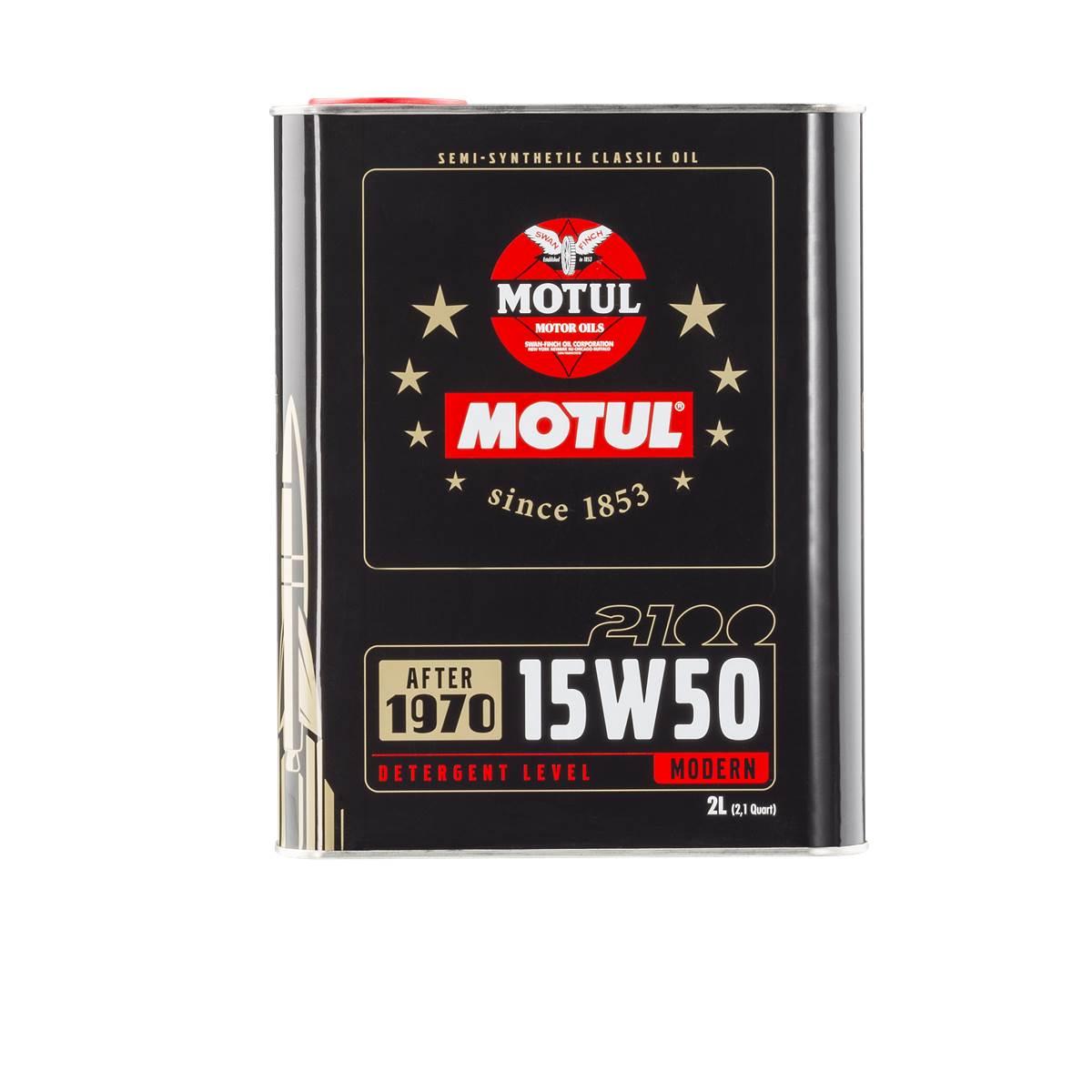 Huile moteur MOTUL Classic Oil 2100 15W50 2L