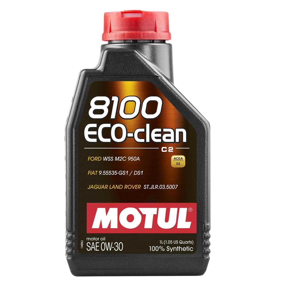 Huile moteur MOTUL 8100 EcoClean 0W30 1L