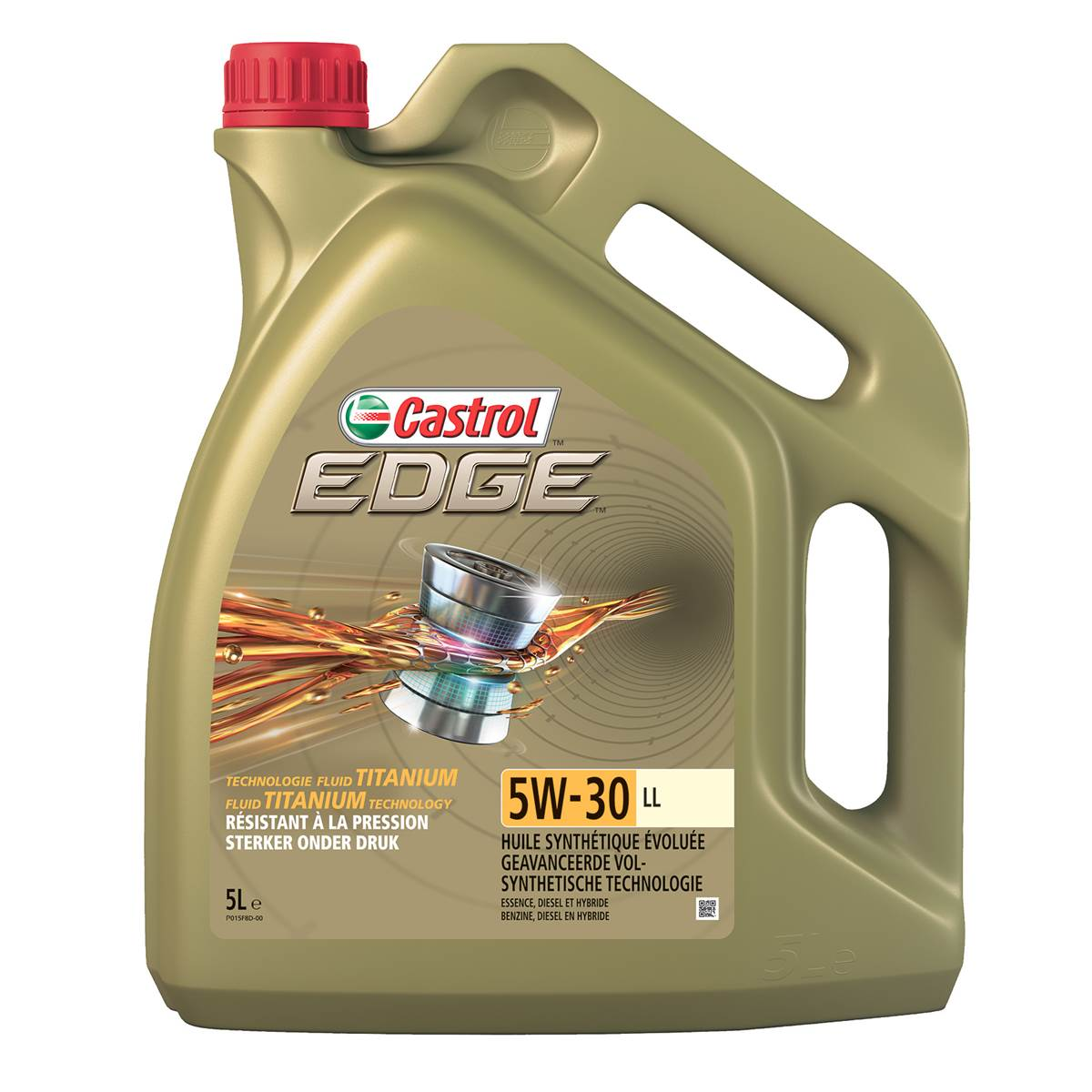 Huile moteur CASTROL LL Essence/Diesel 5W30 5L