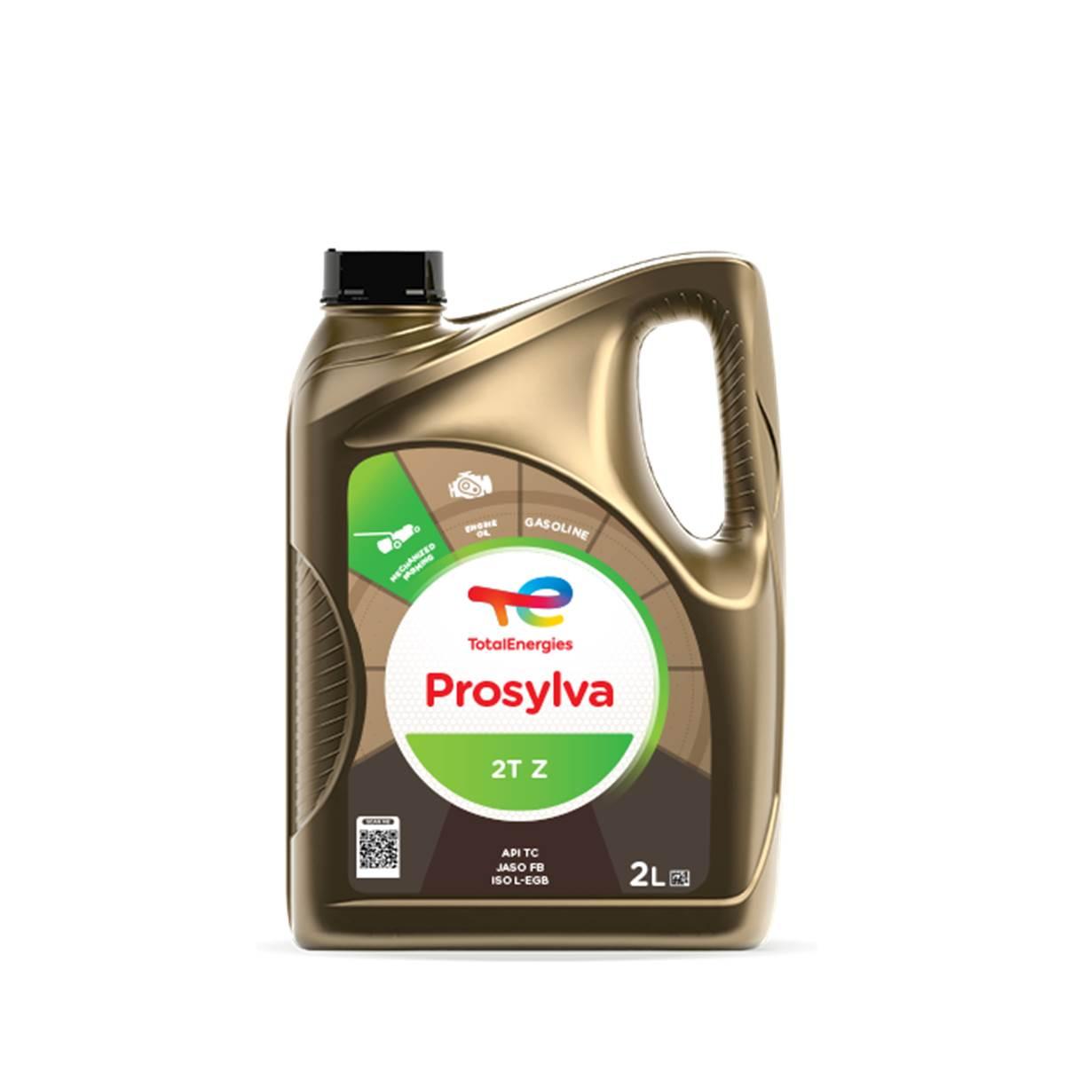 Huile minérale Total pour moteurs 2 temps 2L