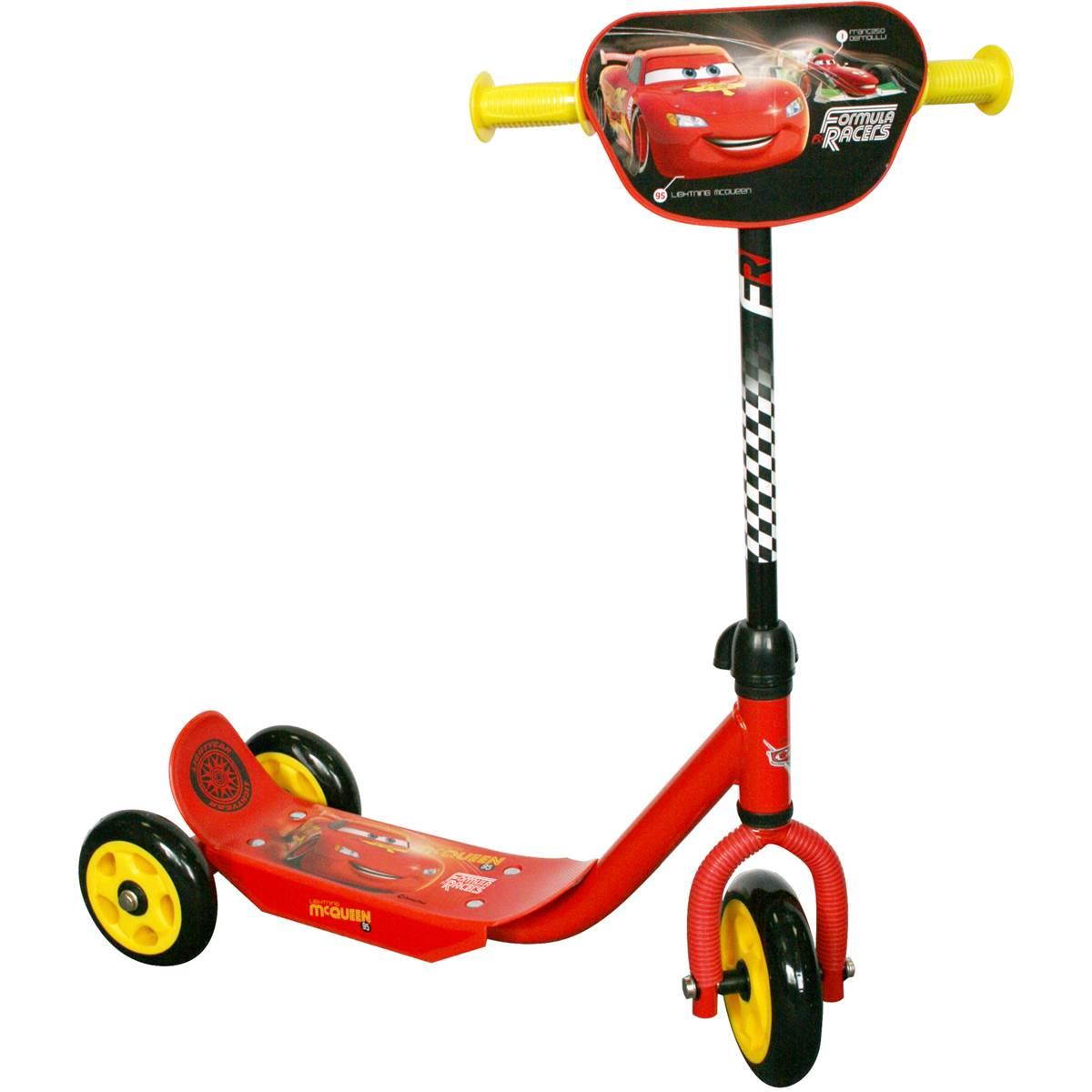 Trottinette 3 roues Cars