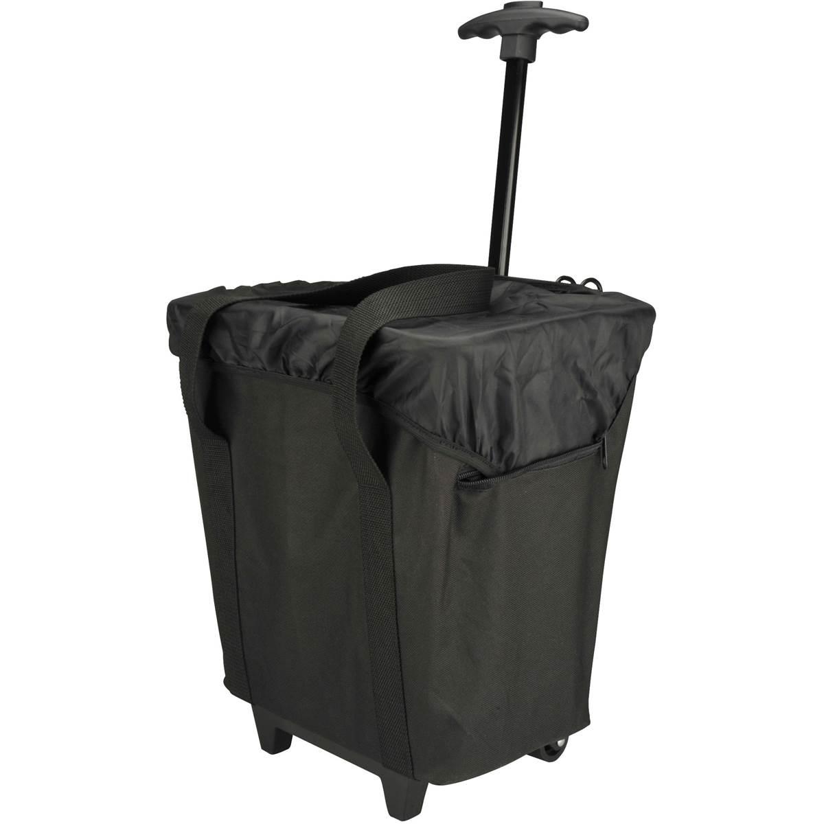Panier sur porte-bagage de vélo et trolley 2 en 1 17L Fischer
