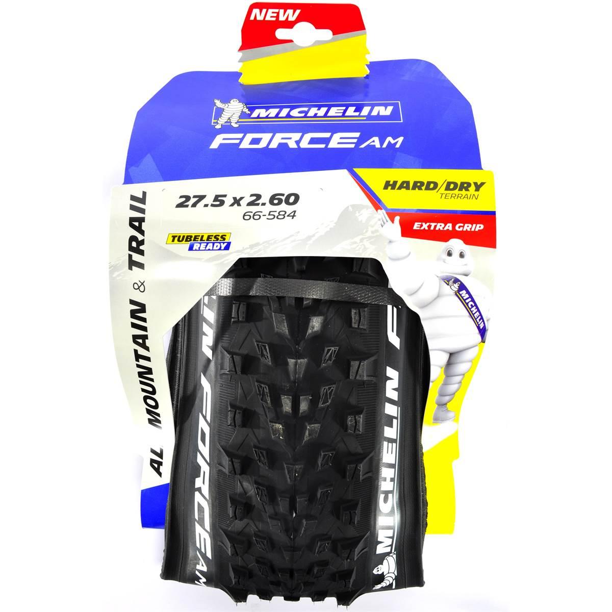 Pneu en 27,5'' x 2,60 Force AM TS TLR Michelin pour vélo